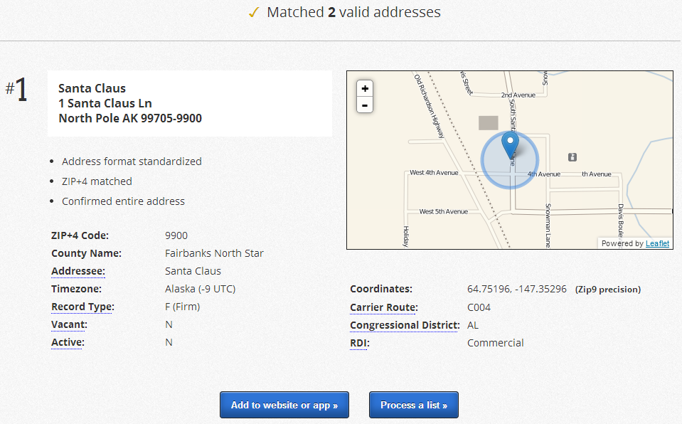 SmartyStreets Interactive Address Verification Tfnp - Smartystreets