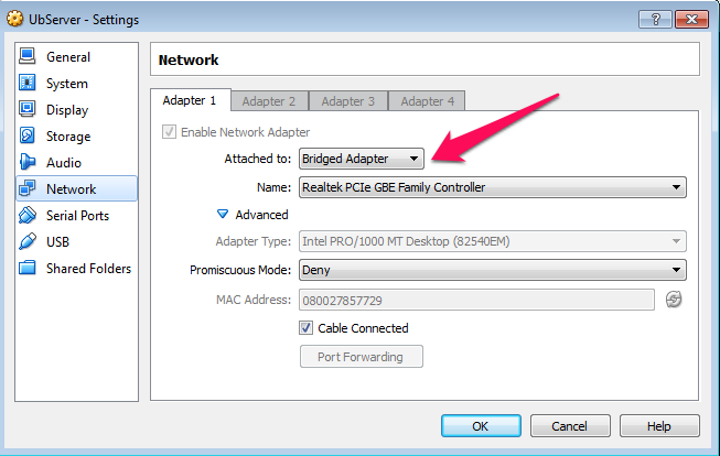 Can't Connect: HeidiSQL + VirtualBox + mySQL + Ubuntu   tfnp